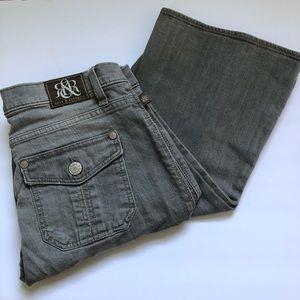 Rock & Republic scorpion grey flare jeans